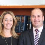 AFGRI Legal Team - Robyn van Heerden and Pieter Badenhorst