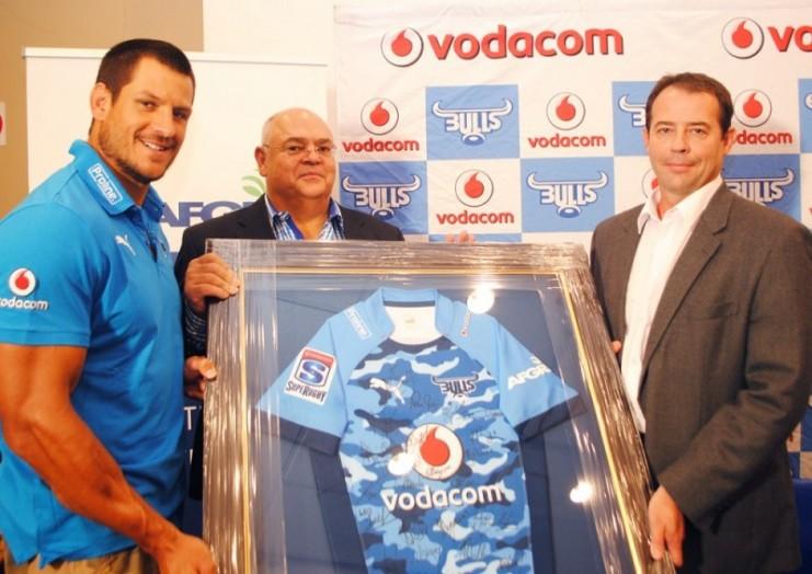 Vodacom Blue Bulls - AFGRI Jersey Handover